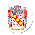 Wardall Round Car Magnet