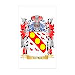 Wardall Sticker (Rectangle 50 pk)