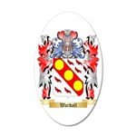 Wardall 35x21 Oval Wall Decal