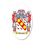 Wardale 35x21 Oval Wall Decal