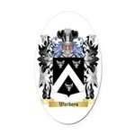 Warboys Oval Car Magnet