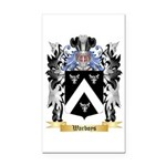 Warboys Rectangle Car Magnet