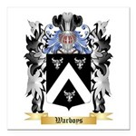Warboys Square Car Magnet 3