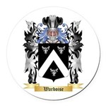 Warboise Round Car Magnet