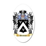 Warboise 35x21 Oval Wall Decal
