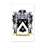 Warboise 35x21 Wall Decal