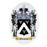 Warboise Oval Ornament