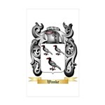 Wanke Sticker (Rectangle 50 pk)