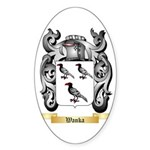 Wanka Sticker (Oval 50 pk)