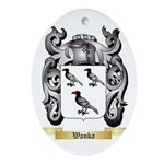 Wanka Oval Ornament