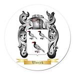 Wanjek Round Car Magnet