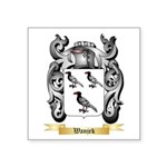 Wanjek Square Sticker 3