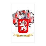 Wangler Sticker (Rectangle 10 pk)