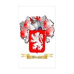 Wangler Sticker (Rectangle 50 pk)