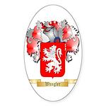 Wangler Sticker (Oval 50 pk)
