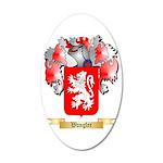 Wangler 35x21 Oval Wall Decal