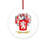Wangler Round Ornament
