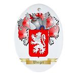 Wanger Oval Ornament