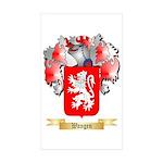 Wangen Sticker (Rectangle 10 pk)