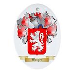 Wangen Oval Ornament
