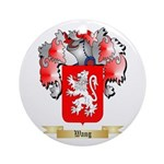 Wang Round Ornament