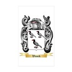 Wanek Sticker (Rectangle 50 pk)
