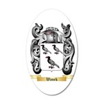 Wanek 20x12 Oval Wall Decal