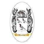 Wandtke Sticker (Oval)