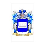 Wandrey Sticker (Rectangle 50 pk)