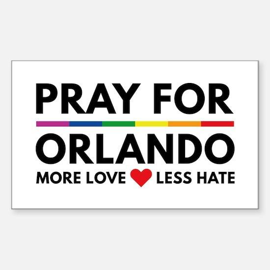 Pray For Orlando Decal