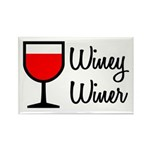 Winey Winer Rectangle Magnet (10 pack)