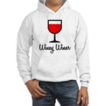 Winey Winer Hooded Sweatshirt