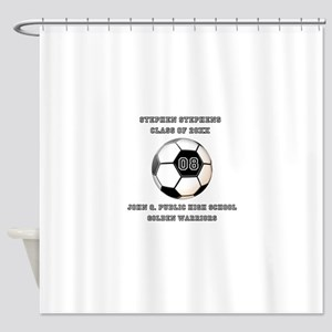 Class Year Soccer Number Name | School Shower Curt