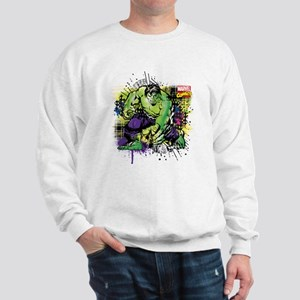 Hulk Watercolor Sweatshirt