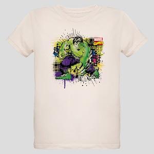 Hulk Watercolor Organic Kids T-Shirt