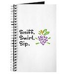 Sniff. Swirl. Sip Journal
