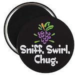 Sniff, Swirl, Chug Magnet