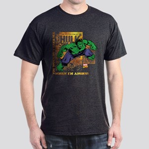 Hulk Angry Golden Dark T-Shirt