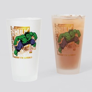 Hulk Angry Golden Drinking Glass