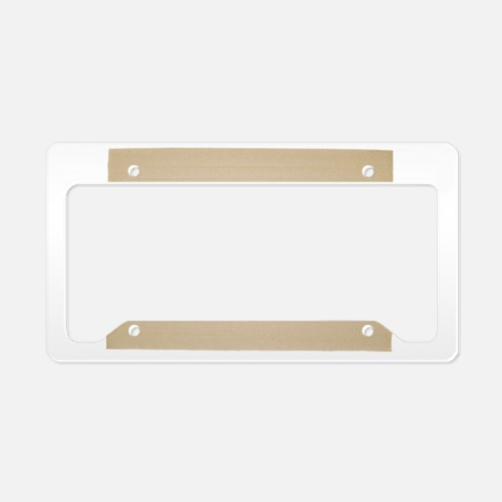 Cool Create your own License Plate Holder