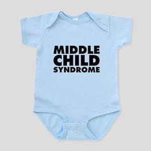 Middle Child Syndrome Infant Bodysuit