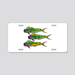MAHI Aluminum License Plate