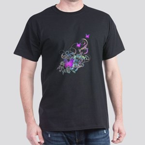 Bright Purple Butterflies T-Shirt