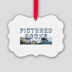 ABH Pictured Rocks Picture Ornament