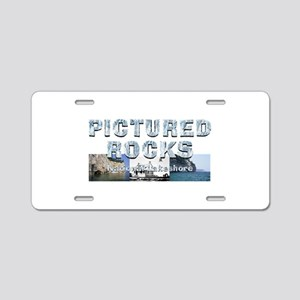 Abh Pictured Rocks Aluminum License Plate