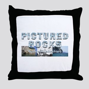 ABH Pictured Rocks Throw Pillow