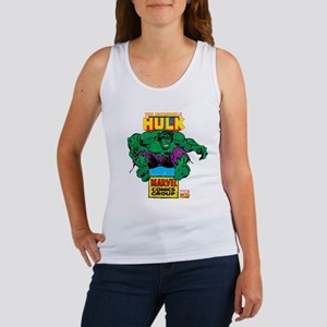 Hulk Marvel Logo Women's Tank Top