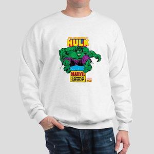 Hulk Marvel Logo Sweatshirt