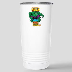Hulk Marvel Logo Stainless Steel Travel Mug