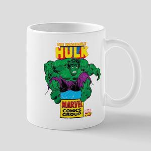 Hulk Marvel Logo Mug